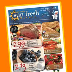 Minyard Sun Fresh Market less than 2 miles from Preston Meadow neighborhood