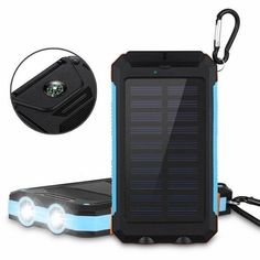 Cheap solar, Buy Quality outdoor battery directly from China battery Suppliers: Waterproof Solar Power Bank Real 20000 mAh Dual USB External Polymer Battery Charger Outdoor Light Lamp Powerbank Ferisi Solar Power Batteries, Solar Battery, Solar Panel Charger, Solar Panels, Smartwatch, Solar Phone Chargers, Solar Companies, Usb, Look Here
