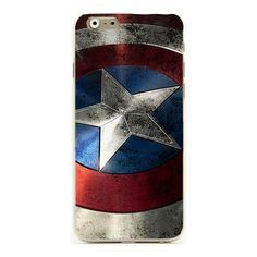 Captain America Superman mobile cell phone case for iphone 6 4.7 inch... ($150) ❤ liked on Polyvore featuring accessories and tech accessories