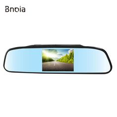 4.3-inch HD LCD Rearview Digital Car Mirror Monitor for Vehicle Reversing Backup Camera / DVD