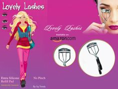 Amazon.com: Lovely Lashes Eyelash Curler By Izy Trends - Creates The Perfect Curls For All Eyelashes Every Time - The Best Eyelash Curler - ...