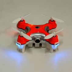 Cheerson CX-10C CX10C Mini 2.4G 4CH 6 Axis RC Quadcopter with Camera RTF Sale-Banggood.com
