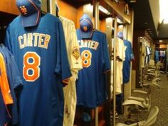 Mets wore Gary Carter jerseys before the Opening Day game
