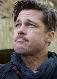 Brad Pitt in Nazi or hitler youth haircut - http://www.fadehairstyle.com/hitler-youth-cut-is-back-from-the-30s/ by shilpa.paranjpe.9