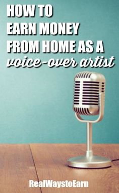 Have you ever wanted to do voice over work from home? http://Voices.com is a major company with thousands of home-based voice over talent accepting jobs daily.  via /RealWaystoEarn/