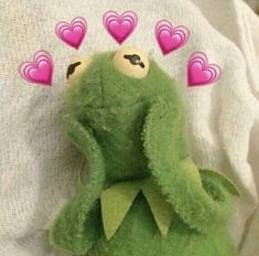 Kermit The Frog Meme Aesthetic Frog Wallpaper, Aesthetic Iphone Wallpaper, Cartoon Wallpaper, Frog Heart, Les Muppets, Sapo Meme, Memes Lindos, Heart Meme, Cute Love Memes