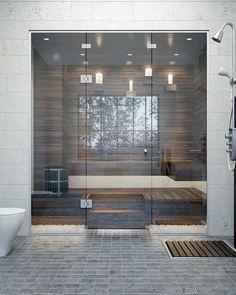 saunan_lasiseinat_suihkuseinat Spa Rooms, Glass Office, Glass Facades, Glass Printing, Steam Room, Building Facade, Bathroom Toilets, Marble Texture, Modern Architecture
