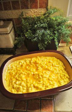 Park Avenue: DCB Recipe #27: Macaroni & Cheese