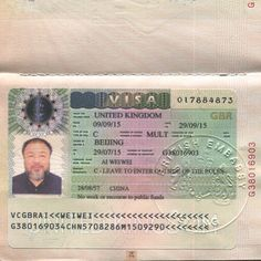 "UK restricts dissident artist Ai Weiwei's stay over his ""criminal record"" in China"