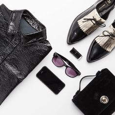 A smart shirt and a pair of brogues are the perfect Monday uniform.