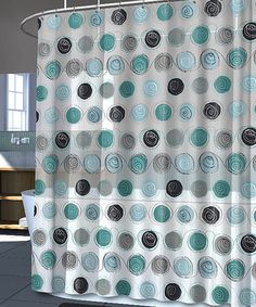 Look at this #zulilyfind! Silver Iota Shower Curtain #zulilyfinds