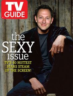TV Guide issue with Michael Emerson, who plays Ben Linus on LOST