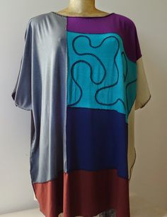 Arte Residual - Arte Mandala: Blusas tamanhos especiais