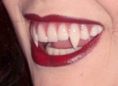 I like how rounded and smooth these fangs look.