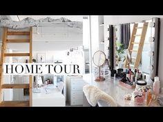 My Loft Apartment/Home Tour | PINTEREST INSPIRED - YouTube