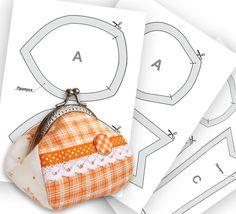 """""""Рукодельная лавка"""" предлагает выкройки интересных моделей кошелечков ► http://rukodelkilavka.com.ua/5_vykrojki-koshelkov ◄ #diy #sewing #purse"""