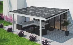 Premium Terrassenüberdachung Mit Solarglas U2013 Erzeugen Sie Ihren Eigenen  Strom Für Ihr Haus. Ihr Solarterrassendach