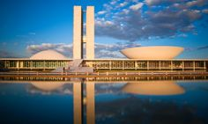 National Congress of Brazil, Brasilia, by Oscar Niemeyer - Bend it like Niemeyer: 10 of the best buildings in Brazil