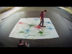 skate-paint. fhSPACE - FH St.Pölten 2013 - YouTube