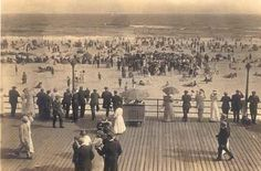 Long Beach, NY boardwalk circa early 1900's.  They cannot destroy, only build tougher.
