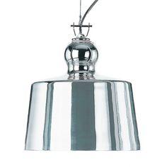 Acquatinta Suspension Lamp - Silver | Michele De Lucchi | HORNE