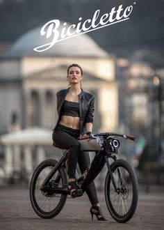 Cycling Girls Looking Good : Photo Motorized Bicycle, Bicycle Race, Bicycle Girl, Motorcycle Style, Bike Style, Rs4, Velo Cargo, E Mobility, Velo Vintage