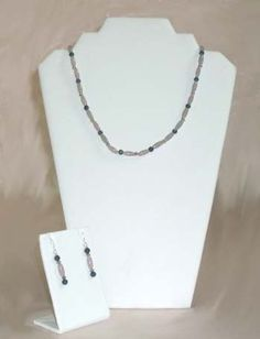 #Agate and #Quarts #Necklace and #Earring Set #jewelry #thecraftstar $23.95