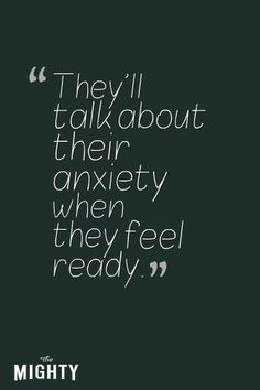 12 Things to Know if You Love Someone With Anxiety | Hey Sigmund via The Mighty