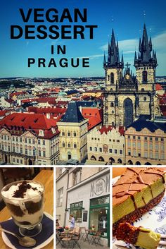 Prague was recently named the city with the most vegan restaurants per capita in Europe. That means not only can you finding marvelous vegan food for breakfast, brunch, lunch, and dinner but you can also find magnificent desserts all over the city. Best Vegan Desserts, Vegan Food, Vegan Recipes, Eating Vegan, Travel Guides, Travel Tips, Food Travel, Travel Articles, Travel Abroad