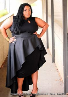 Today's You Oughta Know Series, shines a light on plus size designer, A Conversation Piece by S.Benson and a few faves from her collection! Looks Plus Size, Curvy Plus Size, Plus Size Girls, Plus Size Women, Plus Size Peplum, Plus Size Dresses, Plus Size Outfits, Plus Size Fashion For Women Summer, Plus Size Summer