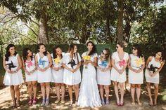 A Aline e o Victor são de Brasília e com uma MEGA ajuda da família e dos amigos, eles conseguiram realizar o sonho do casamento!