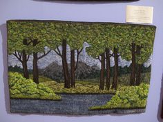 Green Mountain Rug Hooking Guild Show 2011 - 60 Rug Hooking Designs, Rug Hooking Patterns, Art Mat, Rug Inspiration, Hand Hooked Rugs, Wool Art, Penny Rugs, Green Mountain, Wool Applique