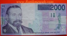 2000 francs banknotes from Belgium