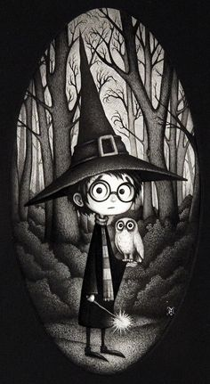 40 Beautiful Harry Potter Art and Illustration Tributes