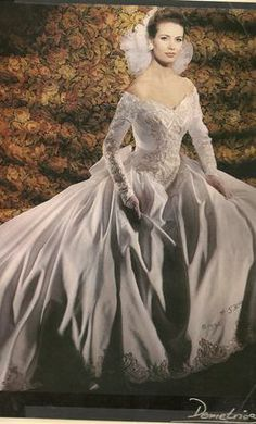 vintage demetrios wedding dresses illssa - Google Search