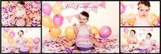 www.cristinacabellofotografia.com #smashthecake #bebés #estudio #cumpleaños #happybirthday