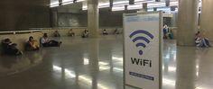 São Paulo 22/09/2015 Movimento na Estação Sé do Metrô. Os usuários da estação Sé podem contar com um novo serviço gratuito de internet sem fio: são as WiFi Zones implantadas pelo Metrô de São Paulo esta semana.
