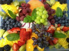 sliced fruites