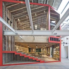 Shanghai flagship store for shoe brand Camper, designed by Chinese architects Neri&Hu