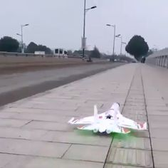 This remote fighter combines very advanced technology. Rc Remote, Cool Inventions, Bike Design, Cool Things To Buy, Stuff To Buy, Cool Gadgets, Own Home, Aircraft, Cool Stuff