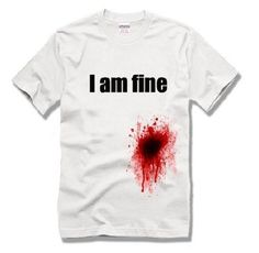 大丈夫じゃないTシャツ