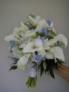 cali lilly bouquet instead of blue replace with pink