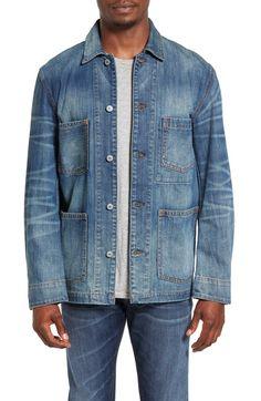 Main Image - Jean Shop Thurman Denim Shirt Jacket