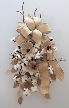 (notitle) 2019 The post (notitle) 2019 appeared first on Cotton Diy. Cotton Decor, Cotton Crafts, Fall Wreaths, Christmas Wreaths, Burlap Crafts, Diy Crafts, 2nd Anniversary Gifts, Wedding Anniversary, Door Swag