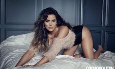 Khloe Kardashian oozes sex appeal as she talks about fitness