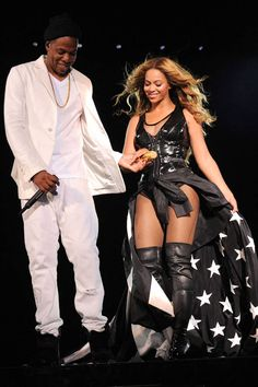 The 27 best tour costumes of the year: Beyonce and Jay Z