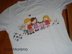 camiseta para a amiga