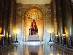 Main lobby, GWNMM Alexandria, VA