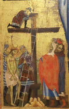 Crocefissione di San Gimignano.  1264