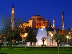 First church, than mosque and at the end museum! Amazing Hagia Sofia!